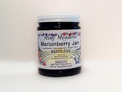 Misty Meadows Marionberry Jam