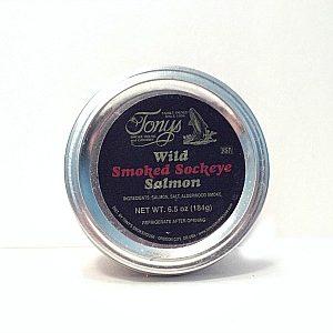 Tony's Smoked Sockeye Salmon