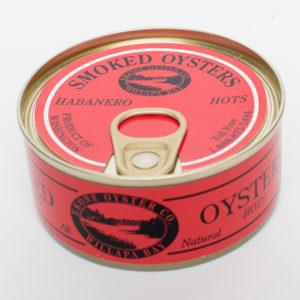 Smoked Oysters – Habanero Hots