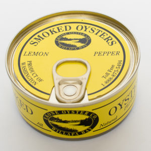 Smoked Oysters – Lemon Pepper