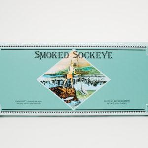 Tony's Boxed Smoked Sockeye Fillet- 16 oz